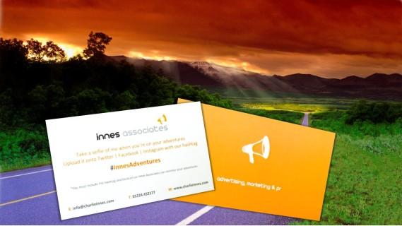#InnesAdventures cards